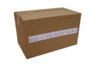 Caixa de Papelão Nº15- 16,5cmx28,5cmx16,5cm