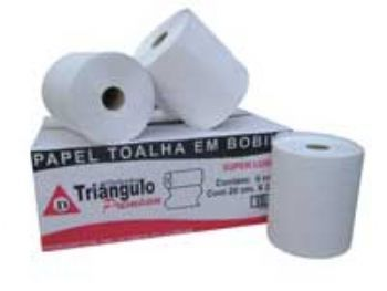 TOALHA PAPEL RL 20x200 MTS BRANCA EXTRA LUXO TRIANG CX-6