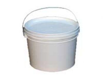 BALDE PLAST 03,6 LT BRANCO C/TAMPA DOORMAN