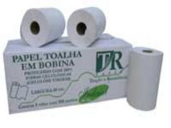TOALHA PAPEL RL 20x100 MTS BR EXTRA LUXO TR-PAPER 40G CX-8