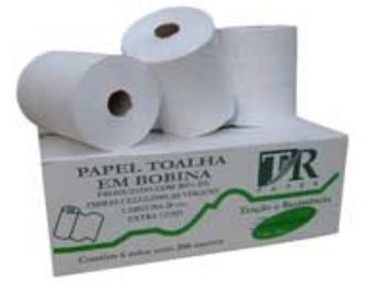 TOALHA PAPEL RL 20x200 MTS BR EXTRA LUXO TR-PAPER CX-6