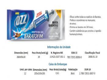 GEL MATA BARATAS BARATOFIM 10G HOME OZZ