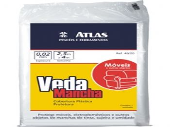 VEDA MANCHA MOVEIS 2,5x4 MT REF.40/20 ATLAS