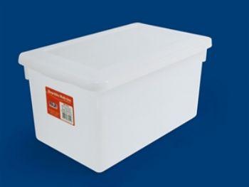 CAIXA PLAST 34,5x21,5x15,6 BR C/TP FECH PLEION 0512