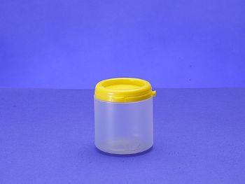 POTE PLAST 200 ML C/TP-INVIOLAVEL 100SL NATURAL INPLAVEL