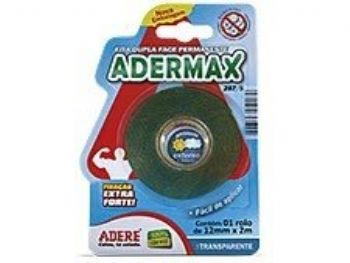 FITA ADESIVA DUPLA FACE 12MMx2M EXTRA-FORTE 2875S ADERE