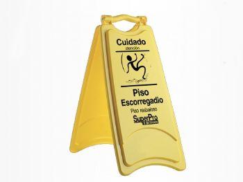 PLACA SINALIZADORA PISO ESCORREGADIO REF.9245B SUPERP
