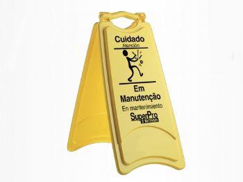 PLACA SINALIZADORA EM MANUTENCAO REF.9247B SUPERP