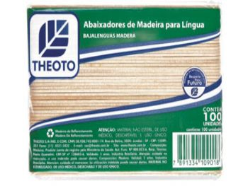 ABAIXADOR DE LINGUA CRUZEIRO PT C/100