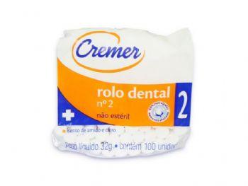 ALGODAO ROLO DENTAL 32 G REF. 02 CREMER PT-100
