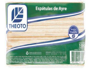 ESPATULA MADEIRA DE AYRE PT C/100 THEOTO