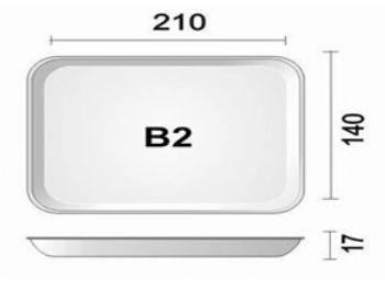BANDEJA ESPUMA B2N PT-50 FD-400 SPUMA-PAC BDJ02 BR400 LS RS