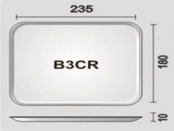 BANDEJA ESPUMA B3/CR PT-50 FD-400 SPUMA-PA BDJ03 BR400 LSER