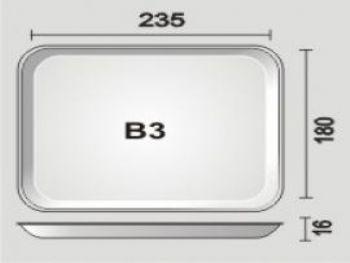 BANDEJA ESPUMA B3N PT-50 FD-400 SPUMA-PAC BDJ03 BR400 LS RS