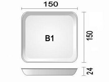 BANDEJA ESPUMA B1N BR PT-50 FD-400 SPUMA BDJ01 BR400 LS RS