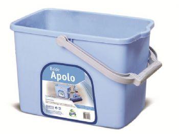 BALDE PLAST 10 LT APOLO BD005 AZ RECICLAFACIL