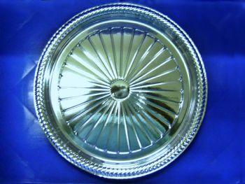 PRATO PLAST 24cm B40 PRATA NEOFORM