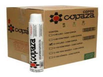COPO PLAST 110 ML BRANCO COPAZA PT-100 CX-3000