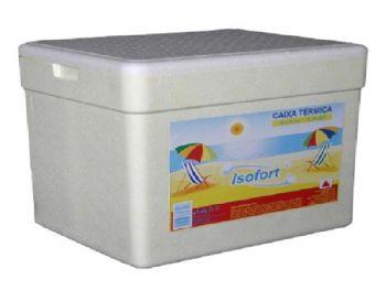 CAIXA ISOPOR 013 LITROS ISOFORT