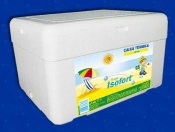 CAIXA ISOPOR 080 LITROS REF-136 ISOFORT
