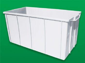 CAIXA PLAST 78cmx56cmx41cm 130L BRANCA BOLIVAR 248