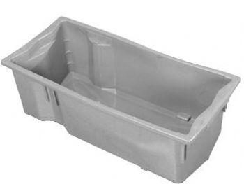 CAIXA PLAST 56,5cmx25,3cmx17,7cm BRANCA P/LEITE INJESUL
