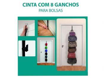 CINTA COM 8 GANCHOS PARA BOLSA ORDENE OR58100
