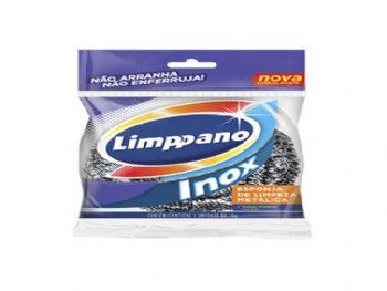 ESPONJA LIMPEZA PESADA INOX LIMPPANO