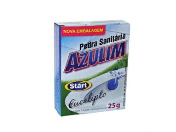 PEDRA SANITARIA AZULIM 25 GRS EUCALIPTO