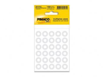 ETIQUETA PIMACO REFORCO TRANSPARENTE CD-2233