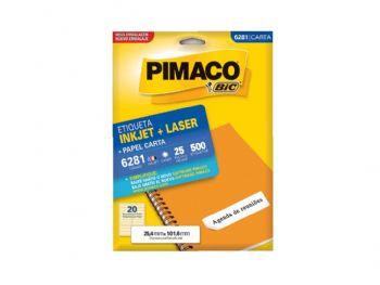 ETIQUETA PIMACO 6281 EV C/25 FLS