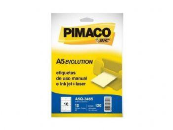 ETIQUETA PIMACO Q-3465 A5 EV-12 FLS
