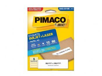 ETIQUETA PIMACO Q-35105 A5 EV-12 FLS