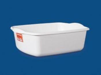 CAIXA PLAST 39,4x31,9x15,4 S/TP FECH BRANCA PLEION 0470
