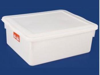 CAIXA PLAST 42,5cmx34,5cmx16cm BR 16,5L C/TP FECH PLEION 0540