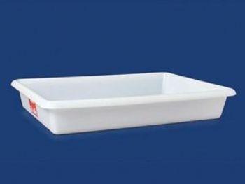 BANDEJA PLAST 54cmx38cmx8,5cm 12L PLEION 0757