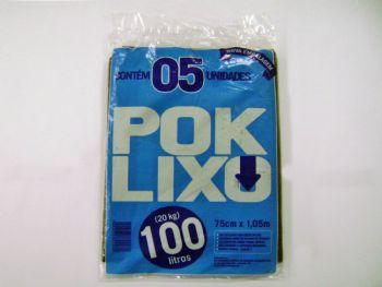 SACO LX 100lts POKLIXO RECICLADO FD-125 PT-5