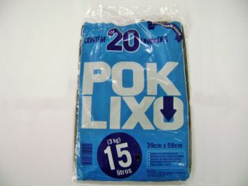 SACO LX 15lts POKLIXO RECICLADO FD-500 PT-20
