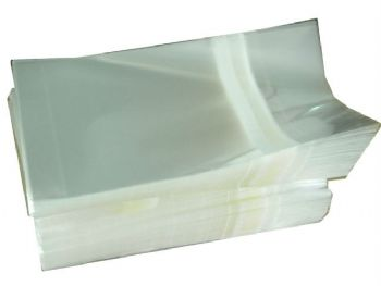 SACO PLASTICO C/ADESIVO 08cm x 12,5cm + 3 x 0.10mm