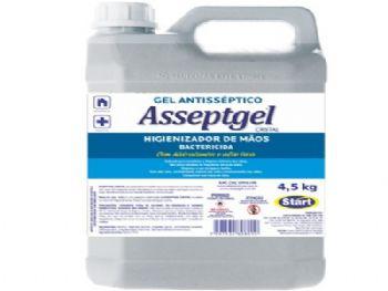 ALCOOL GEL 4,5 KG ASSEPTGEL START CX-04