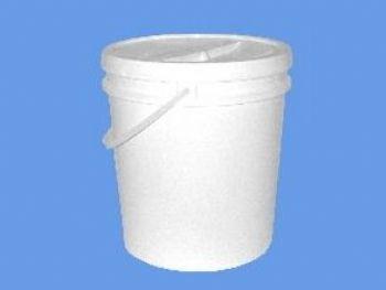 BALDE PLAST 10 LTS BRANCO C/TAMPA DOORMANN 1.1.598.4.C