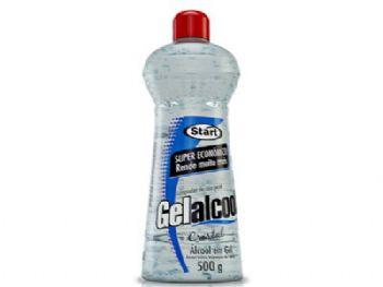 ALCOOL GEL 500 G GELALCOOL CRISTAL START CX-12