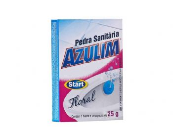 PEDRA SANITARIA AZULIM 25 GRS FLORAL
