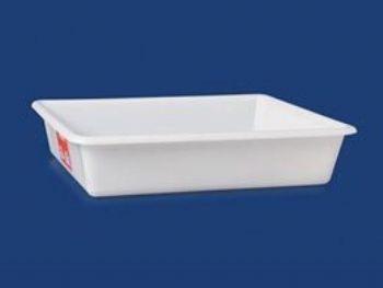 BANDEJA PLAST 35cmx29cmx7cm 5,5L PLEION 0767